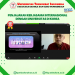 Penjajakan Kerjasama Internasional dengan Universitas di Korea